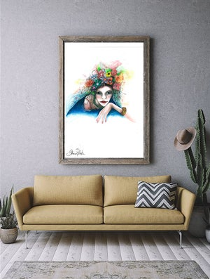 """Image of """"Floral Lady"""""""