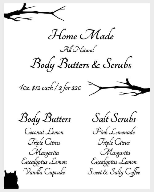 Image of Homemade Body Scrub