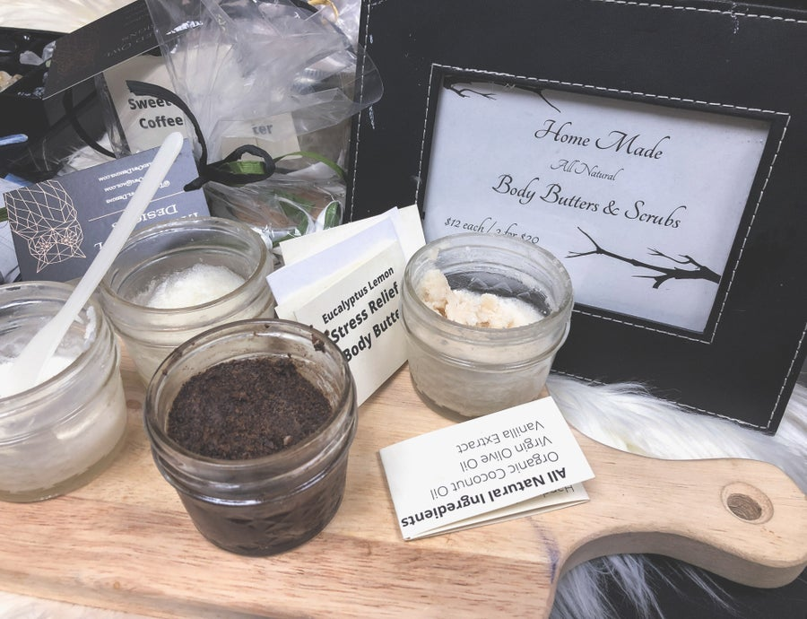 Image of Homemade Body Scrub