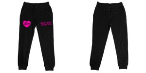 Image of Goddess Since Birth Black Fleece Joggers | Exclusive Goddess Aura Release