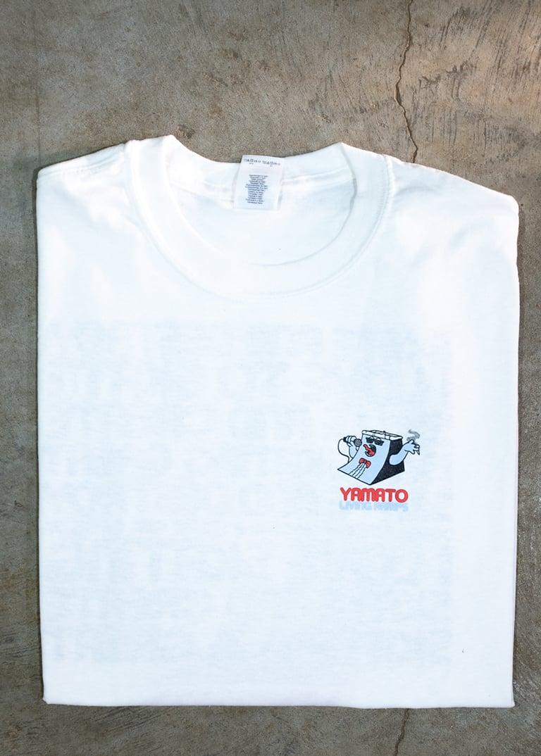 "Image of Yamato Living Ramps | ""Johnny Ramp"" Shirt | Animal Chin hair-white"