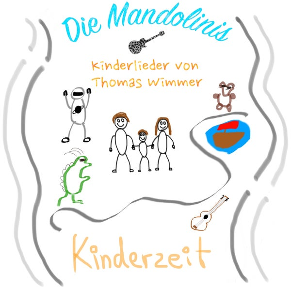 Image of Die Mandolinis - Kinderzeit - Kinderlieder von Thomas Wimmer CD / Download