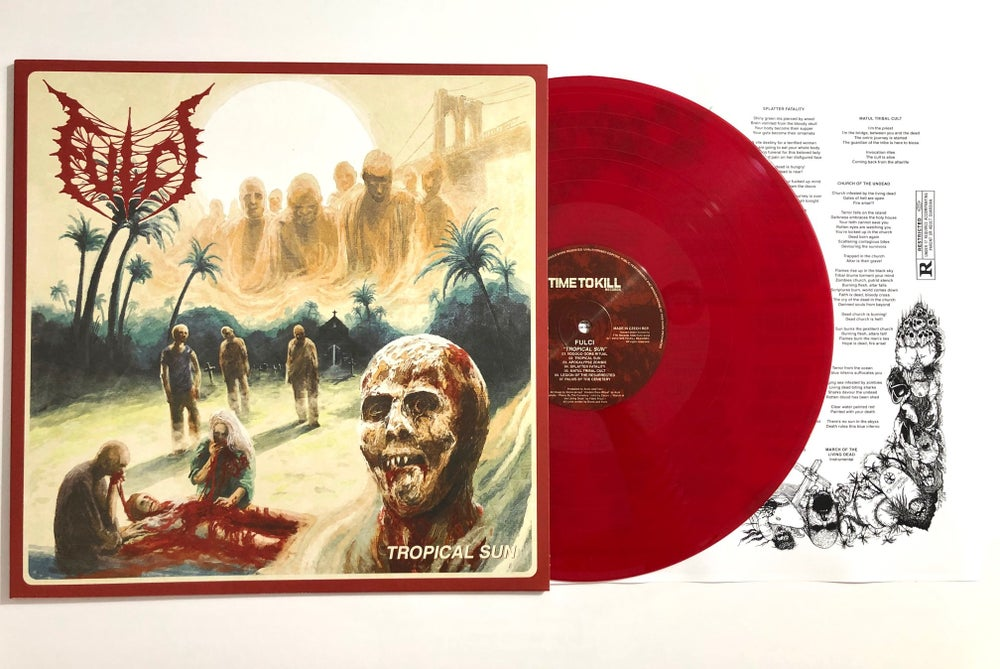 Fulci - Tropical Sun - LP SOLID RED Limited