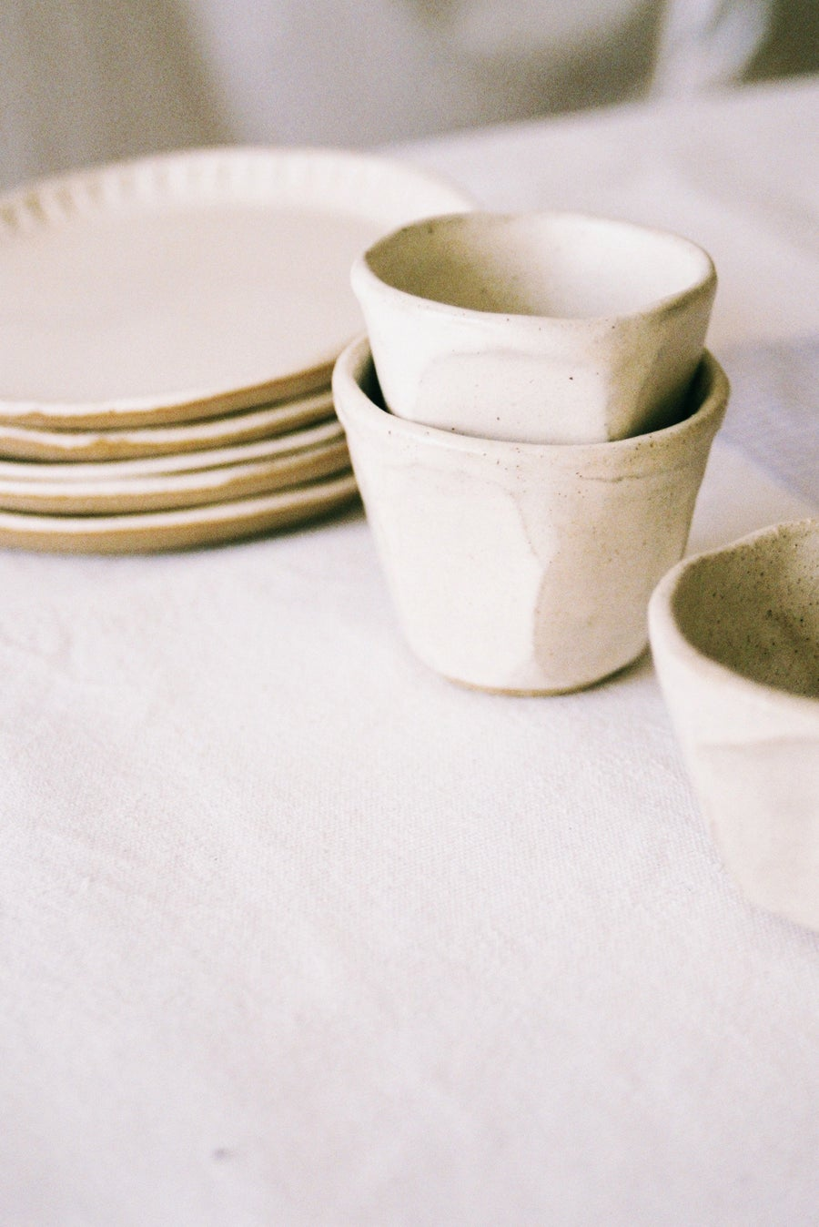 """Image of <span style=""""color: #f4cccc;""""> NEW</span>  Creamy Cups by Olivia Fiddes"""