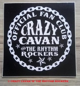 Image of NEW! CRAZY CAVAN FAN CLUB STICKER