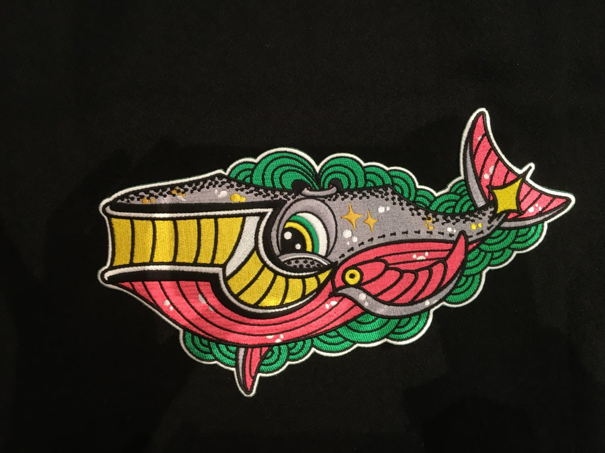 Image of NEW Big Deno Whale Patch