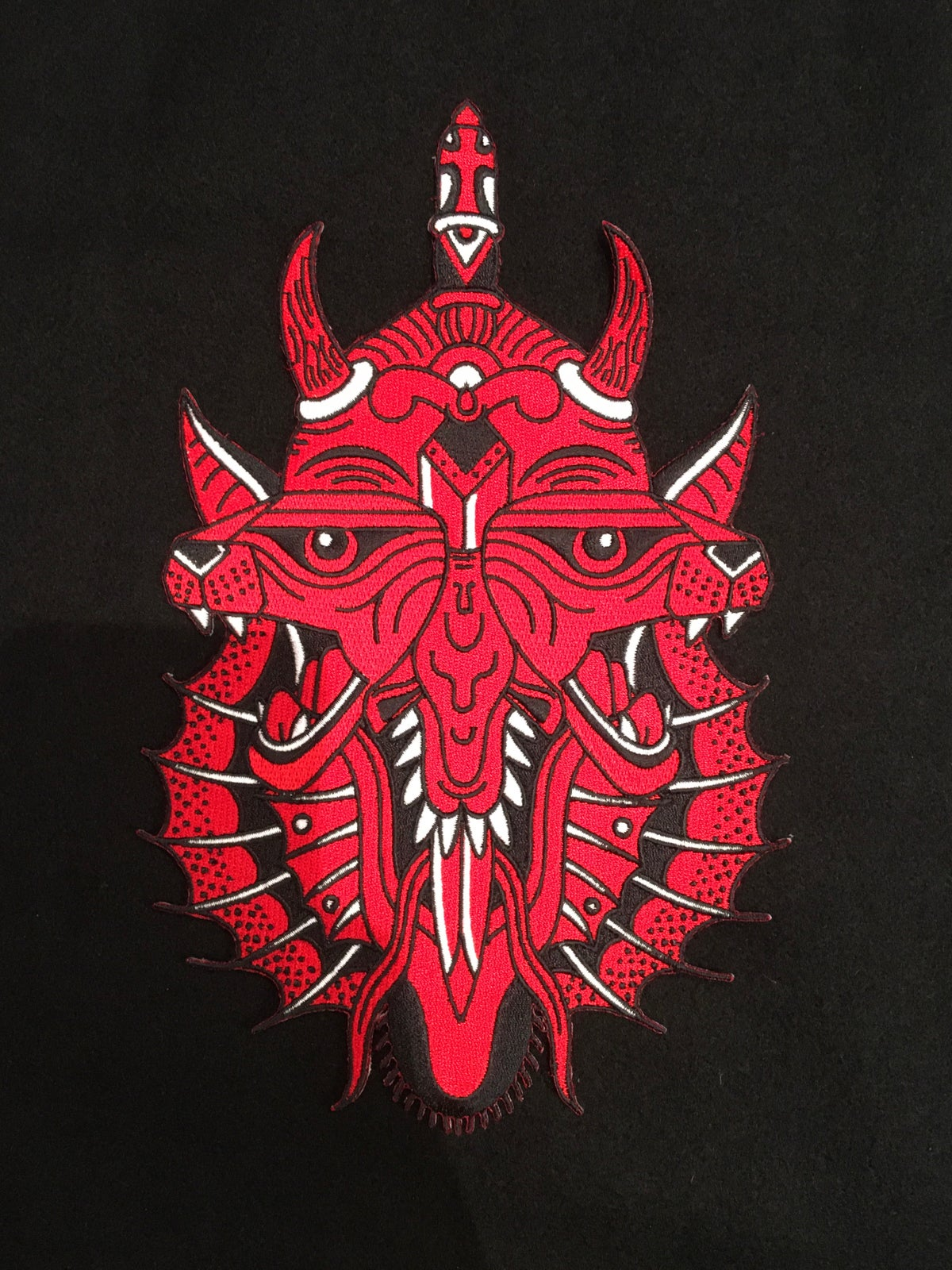 Image of NEW Red Evil Giant Patch
