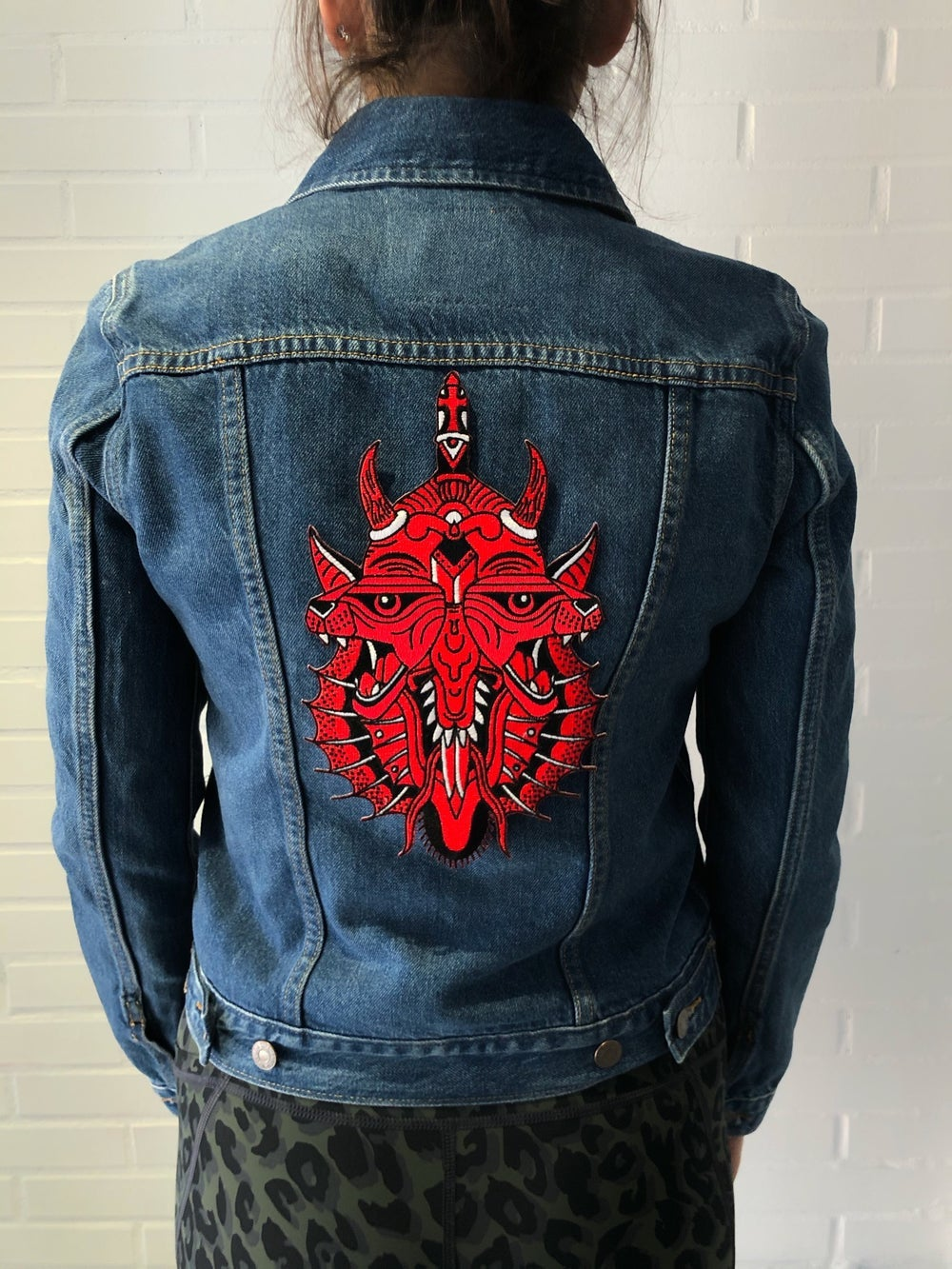 Image of Red Evil Giant Patch