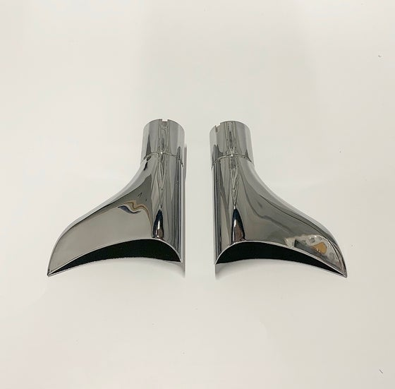 "Image of Fishtail Exhaust Tips (for 1-3/4"" exhaust)"