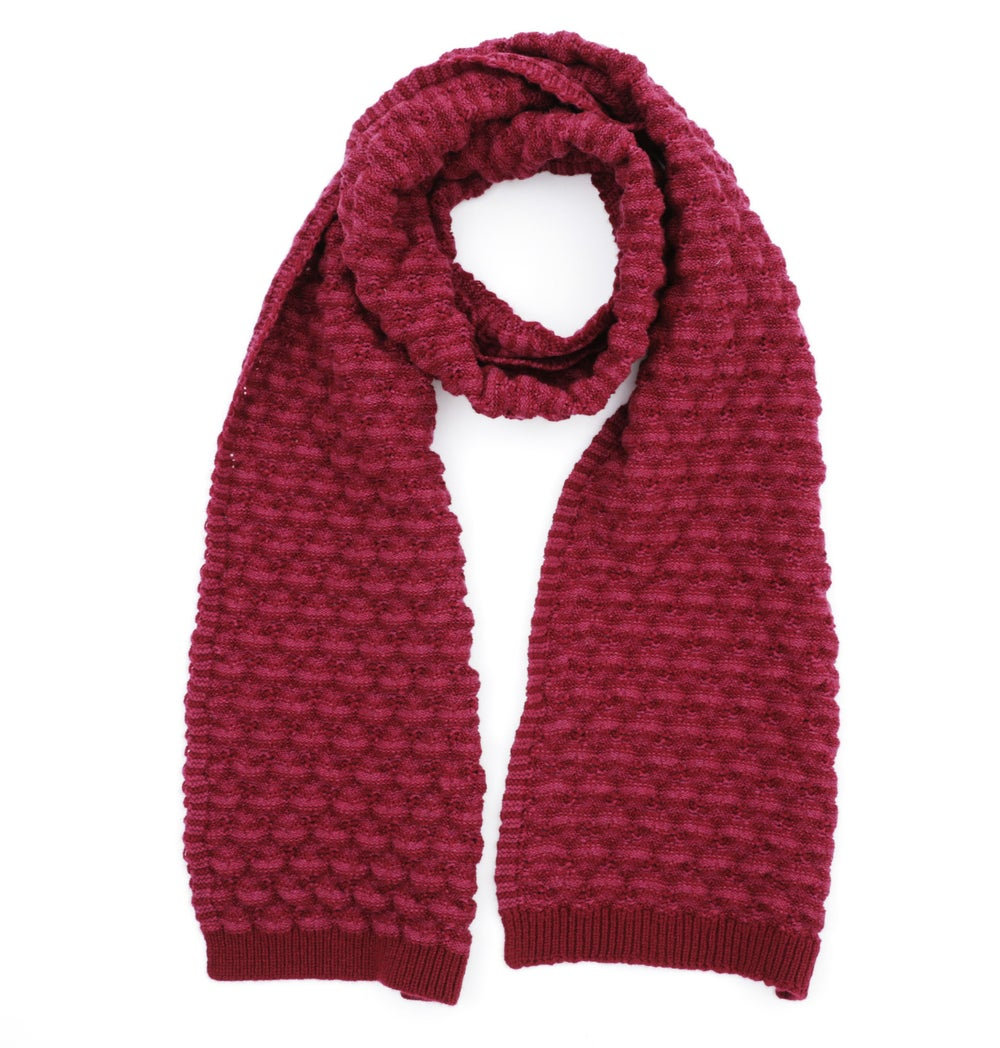 Image of Peaks Scarf / Rose Red