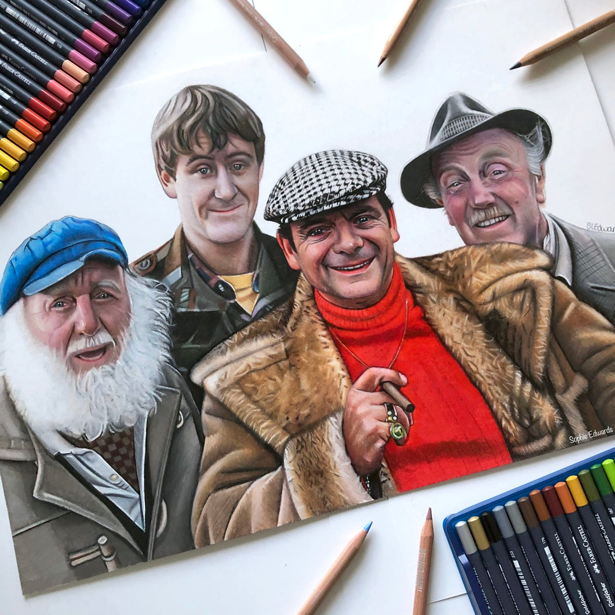 Image of Only Fools and Horses (Limited Edition print)