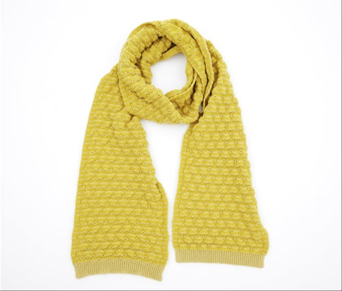 Image of Peaks scarf / Yellow