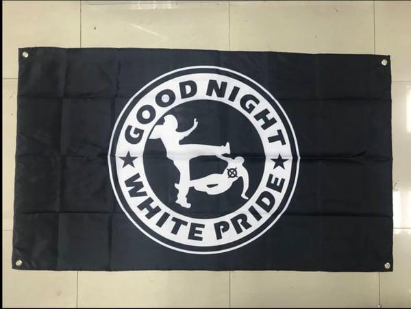Image of Good Night White Pride Flag