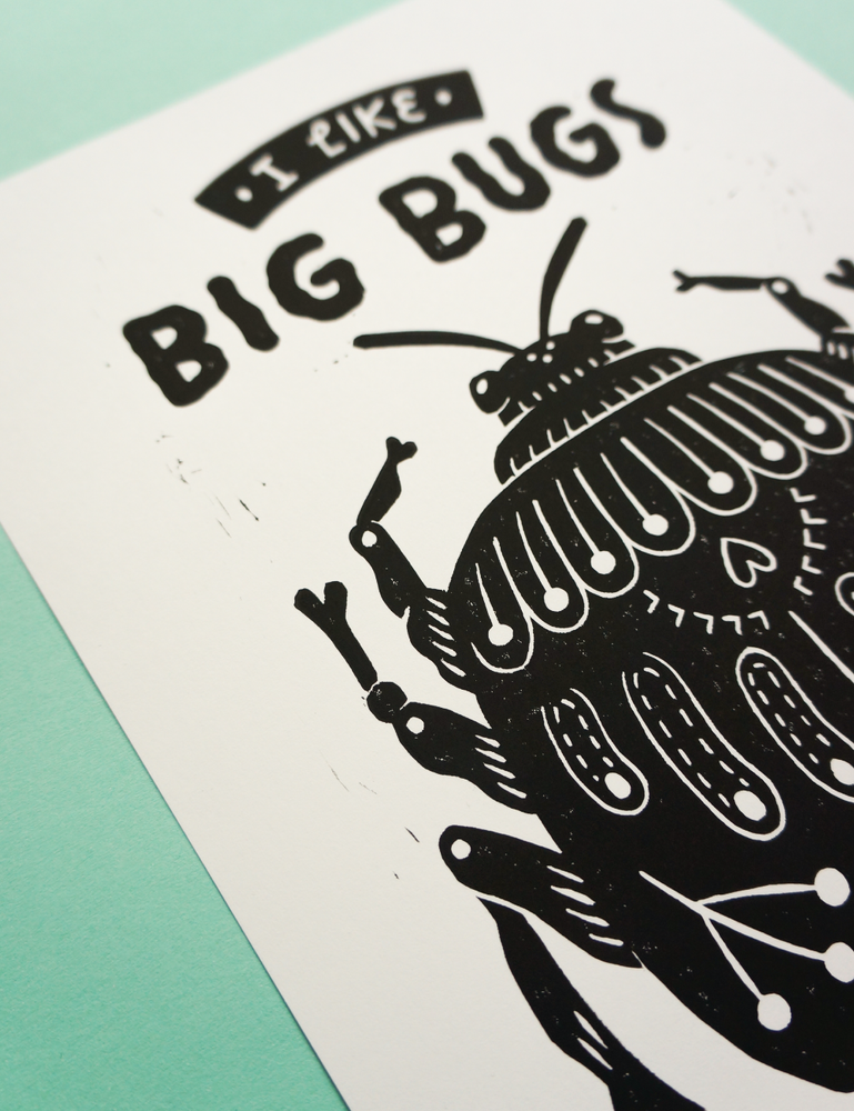 Image of Big Bugs (A4)