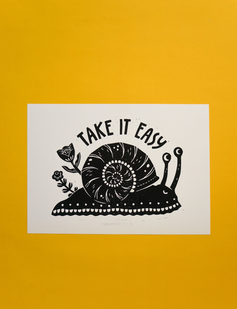 Image of Take it Easy (A4)