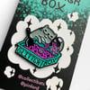 Pinlord Collab: Glitterbox Cat