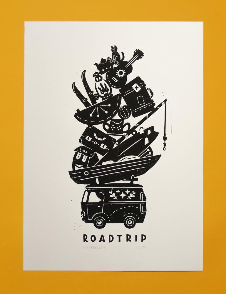 Image of Road Trip (25x35cm)