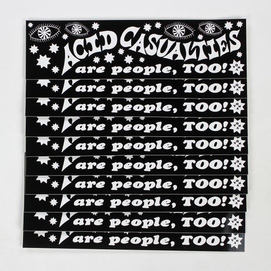 Image of ACID CASUALTIES BUMPER STICKER