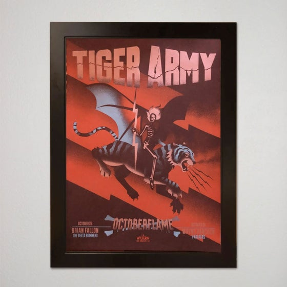 Image of OCTOBER FLAME VARIANT - artist proof