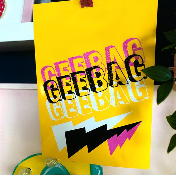 Image of GEEBAG PRINT