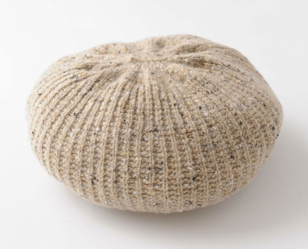 Image of Tweedy Donegal Shell Beret / Natural
