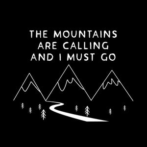 Image of The mountains are calling' Tshirt