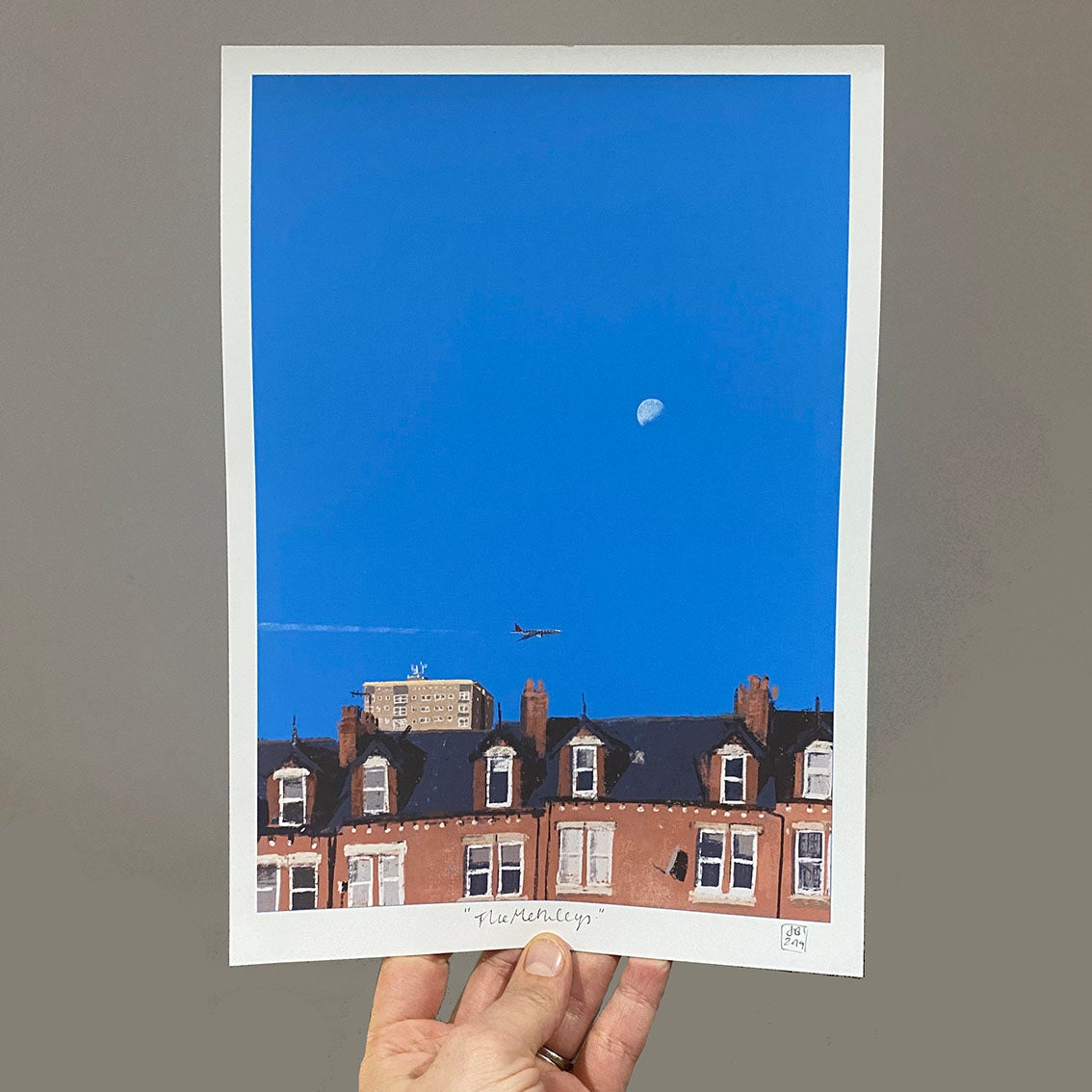 Image of 'The Methleys' archive quality print (A4 or A3)