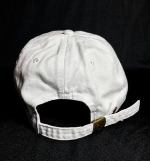 Image of Dog Days white strapback hat