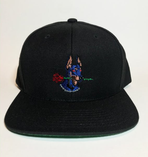 Image of Dog Days black SnapBack hat