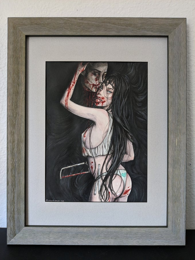 "Image of ""Spares"" Original (Framed)"
