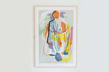 Image of 'Figure' Screen Print (unframed)
