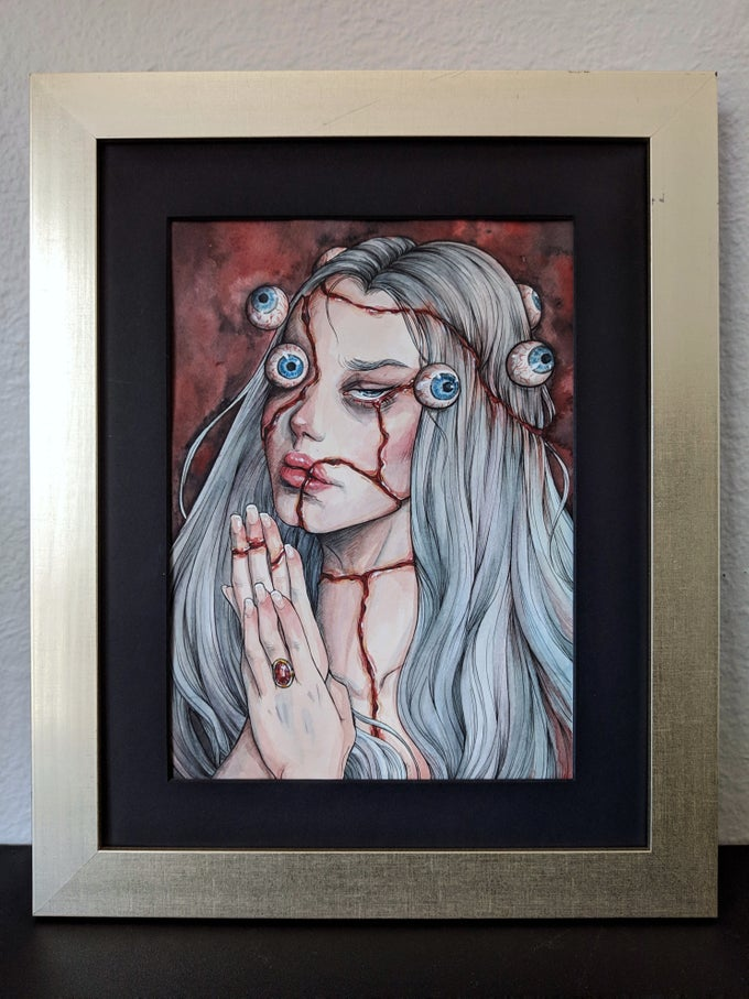 "Image of ""Beyond Sight"" Original (Framed)"