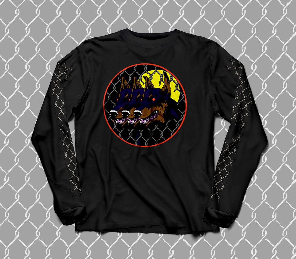Image of Dog Days long sleeve black tee