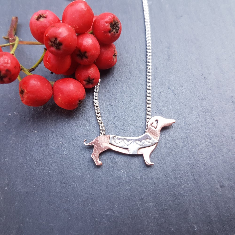 Image of Little Dachshund Necklace