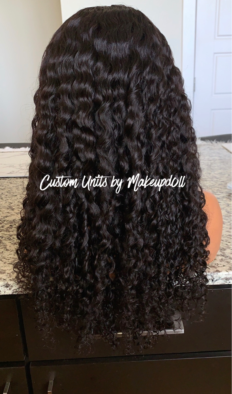 "Image of Indian Curly 22"" Custom 360 Lace Frontal Wig! (Glueless)"