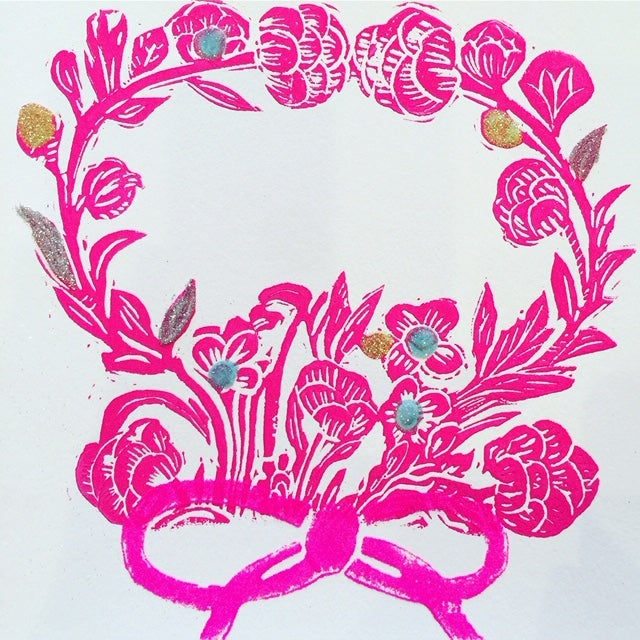 Image of ROSEY WREATH