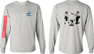 Image of Skate Like a Girl Longsleeve Shirt