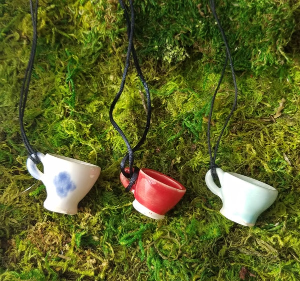 Image of Tiniest Tea Cup Necklace