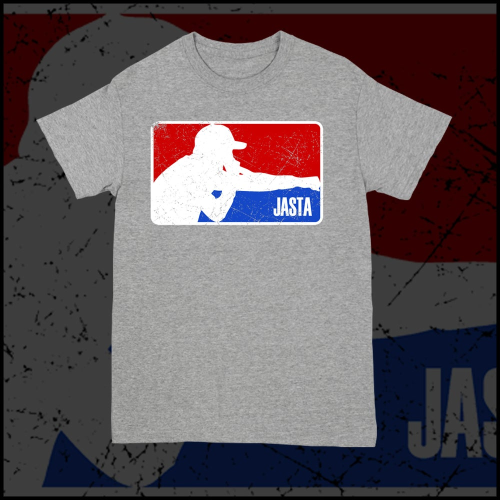 Image of JASTA LOGO T-SHIRT (LIGHT GRAY)