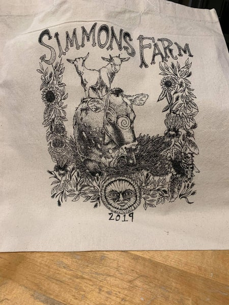 Image of 2019 Simmons Farm Tote Bag