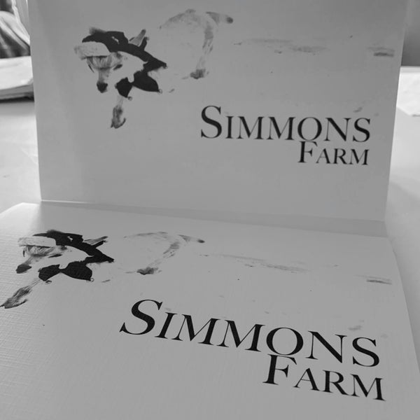 Image of Simmons Farm Holiday $25 Gift Certificate