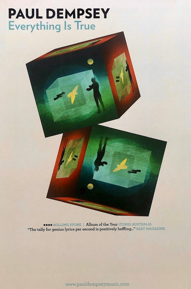 Image of Paul Dempsey US poster Extremely rare 'Everything True'
