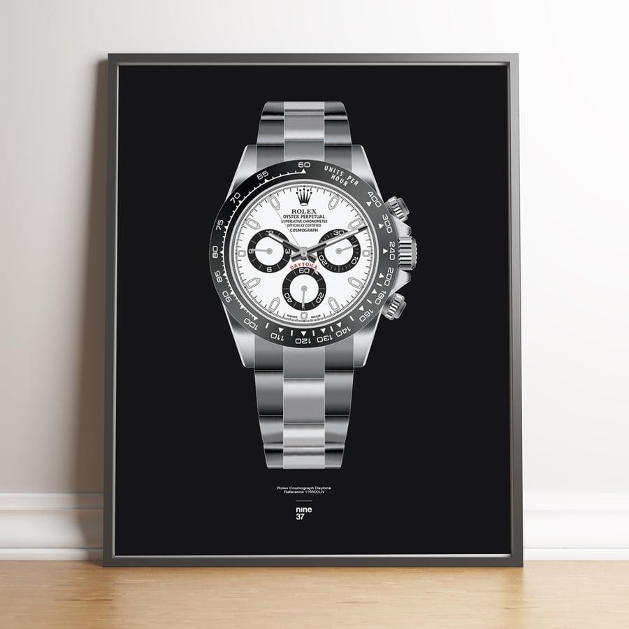 Image of Rolex Cosmograph Daytona Bracelet Print