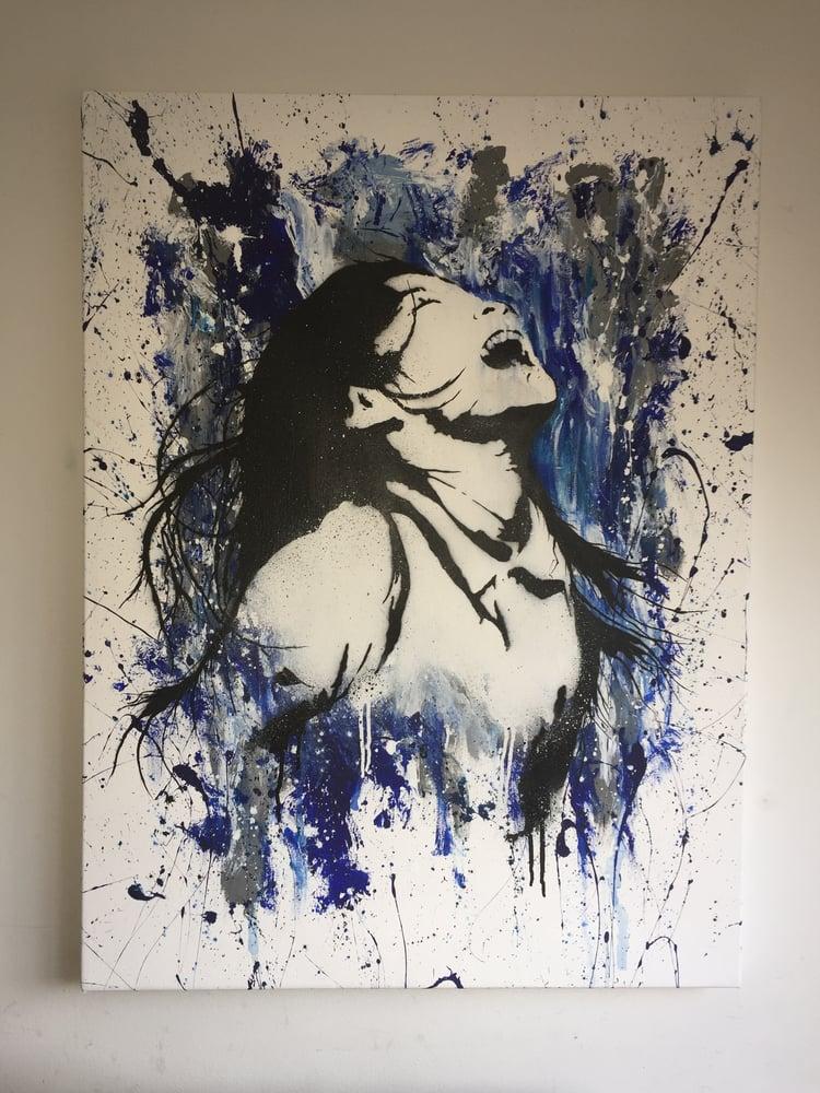 Image of Euphoric- Original 1/1 Canvas