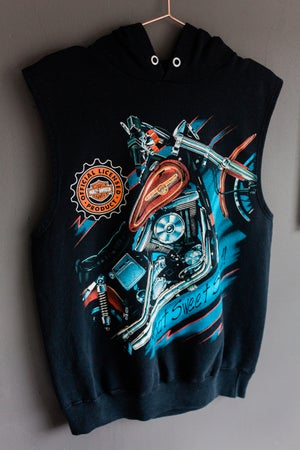 Image of Harley Davidson - That Sweet Sound - Sleeveless Hoodie
