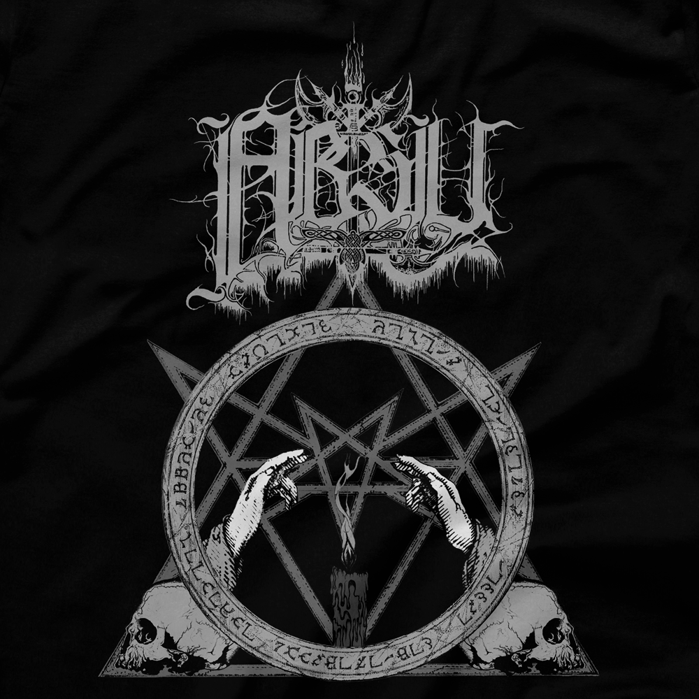 Image of ABSU - NEVER BLOW OUT THE EASTERN CANDLE (GREY PRINT) 1