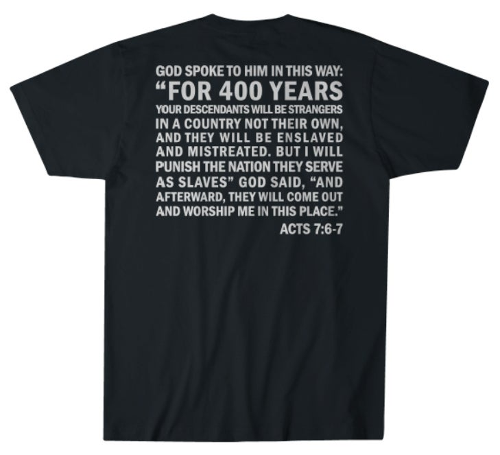 Image of 1619 COMMEMORATIVE EXCLUSIVE SHIRT