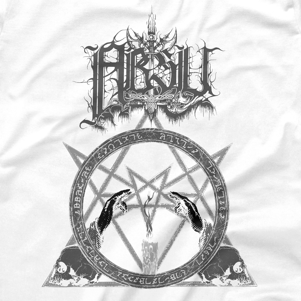 Image of ABSU - NEVER BLOW OUT THE EASTERN CANDLE (GREY PRINT) 2