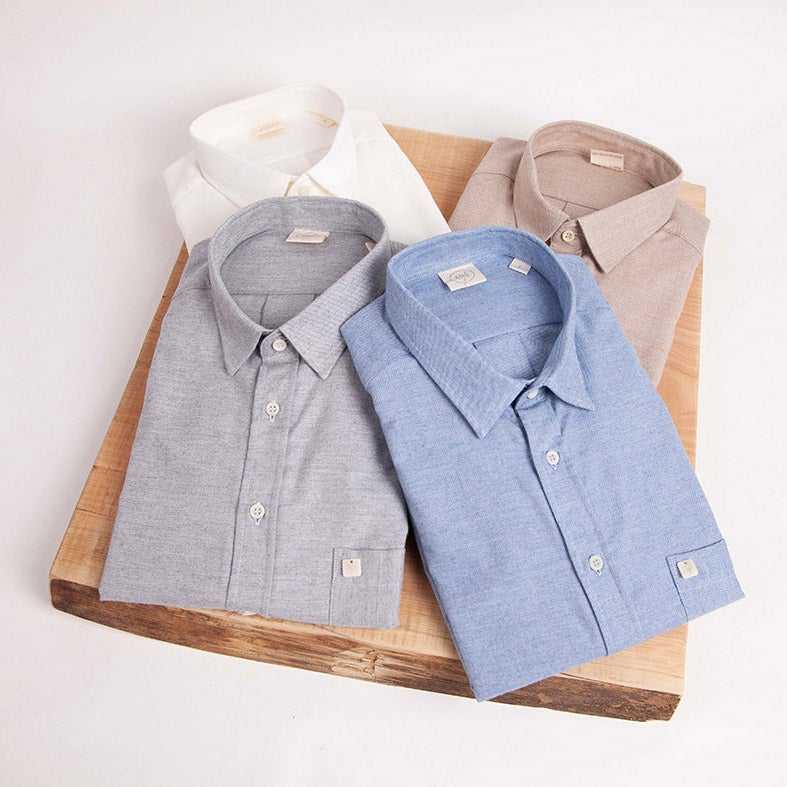 Image of Cashmere Blend Casual Shirt