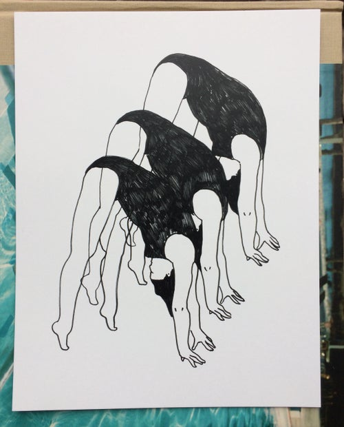 Image of Morning Stretches Print